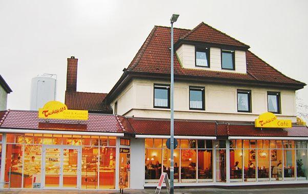 Unsere Hauptfiliale mit Café