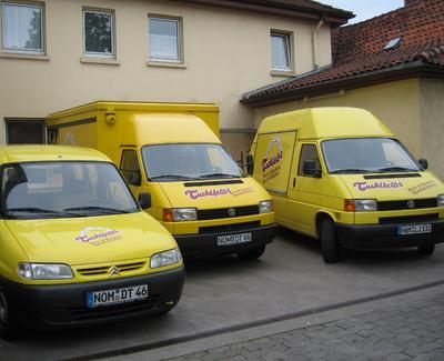Unsere Verkaufswagen